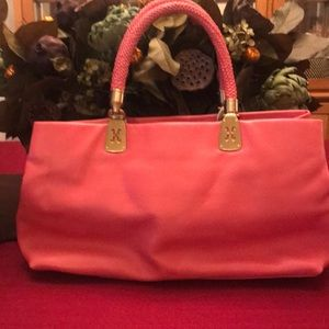 AUTHENTIC Cole Haan pink coral bag